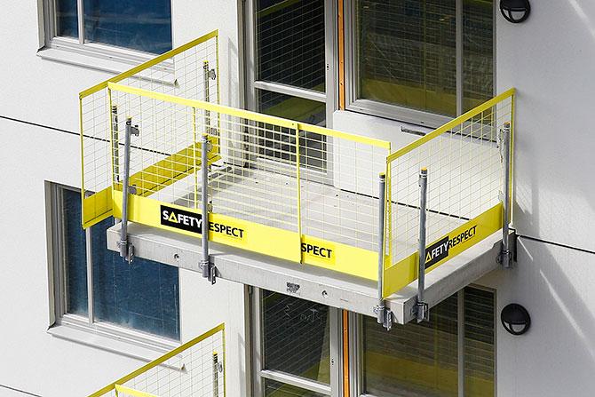 TS EN 13374 kalite onaylı kenar koruması