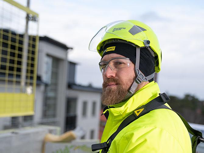 Helmet SR flash yellow